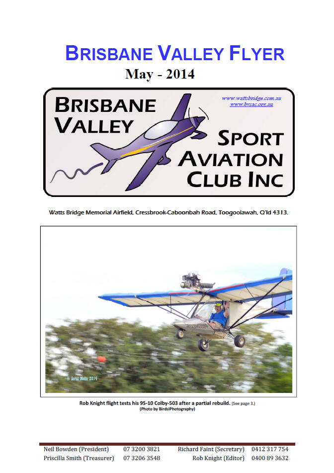 View the Brisbane Valley Flyer - May 2014